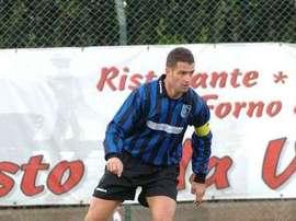 Flavio Gagliardini, futbolista recientemente fallecido, en un partido de archivo.