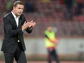 Flavius Stoican, entrenador del FC Zimbru. FCZimbru