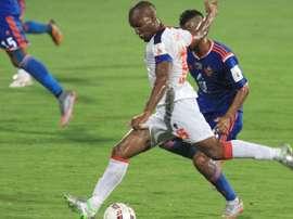 Florent Malouda, en una etapa previa en el Delhi Dynamos. DelhiDynamos