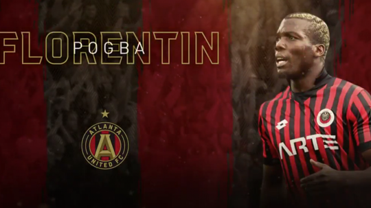 Florentin Pogba en MLS. AtlantaUnited