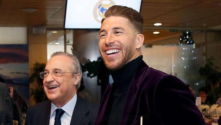 Florentino habló sobre el futuro de Ramos. Instagram