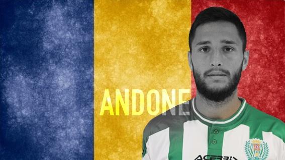 Florin Andone, canterano y jugador del Córdoba. cordobacf.com