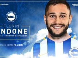 Andone will officially join the club on June 8. Twitter/OfficialBHAFC