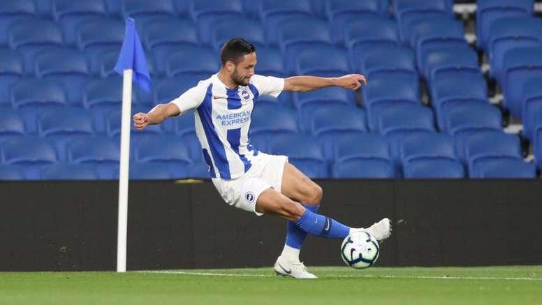 Andone volvió a marcar con el Brighton. Brighton