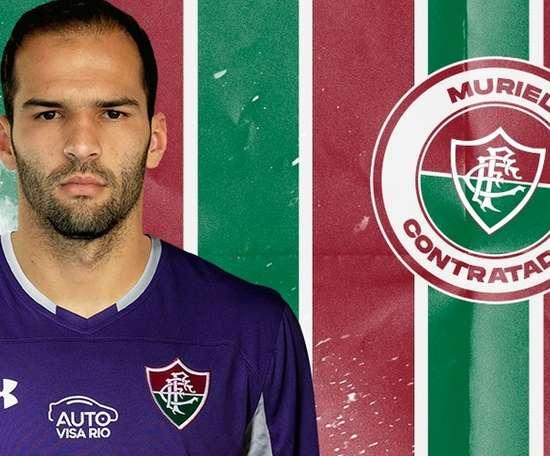 Fluminense confirma contratação do goleiro Muriel, irmão de Alisson. Fluminense