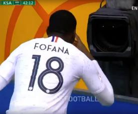 Fofana fue uno de los goleadores. Captura/Telemundo