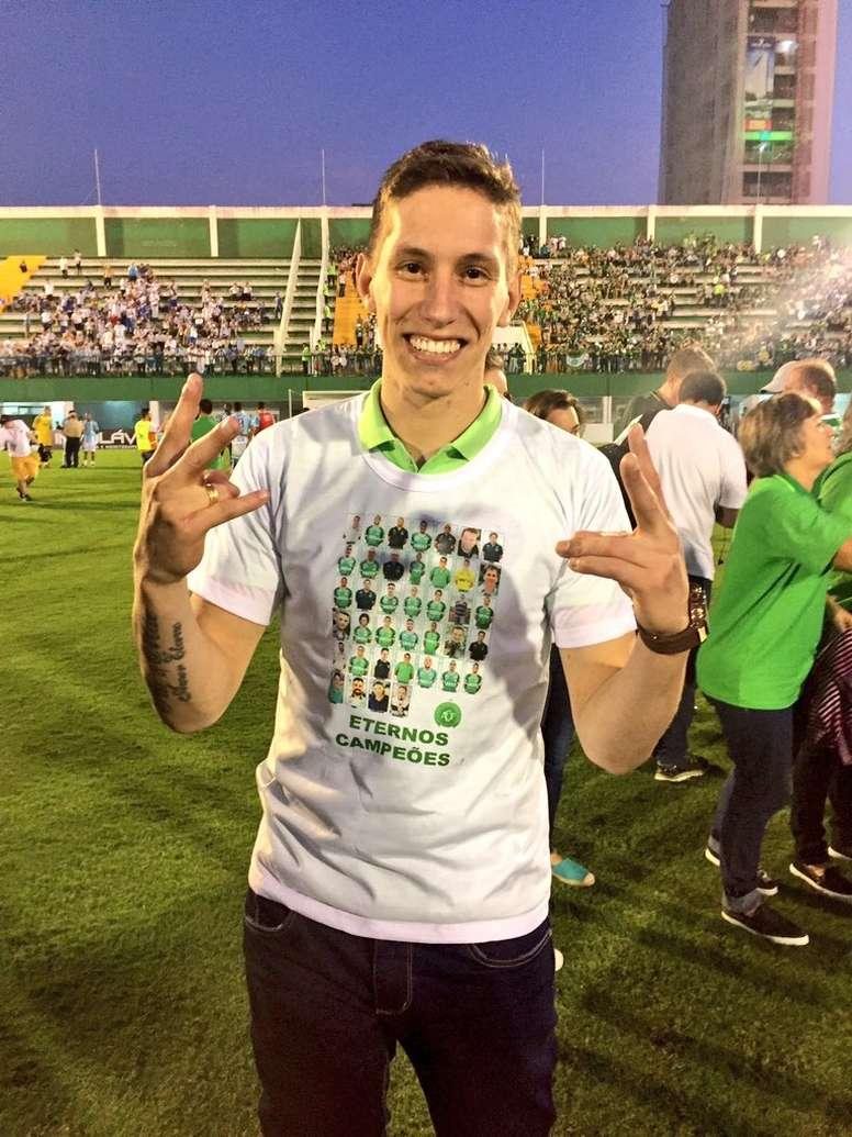 El conjunto brasileño se proclamó campeón del Catarinense. Twitter