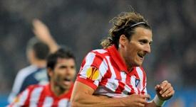 Al delantero uruguayo le gustaría volver a jugar en Madrid. EFE