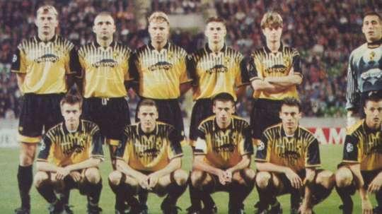 El Lierse jugó la Champions en la temporada 1997-98. Archivo