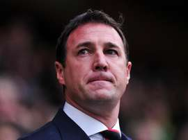 Former Cardiff manager Malky Mackay, pictured on October 26, 2013, escaped punishment over his controversial exchange of text messages with Iain Moody