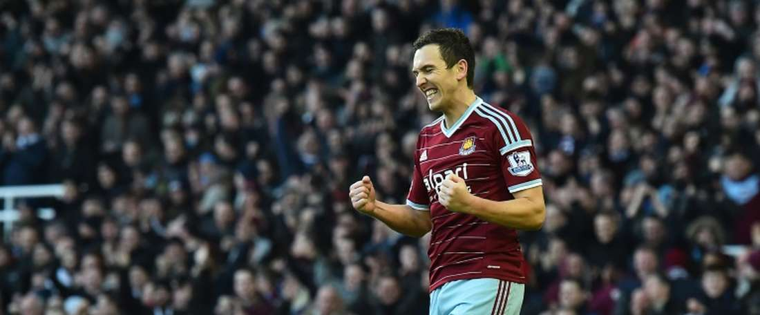 Stewart Downing has signed for Blackburn Rovers. AFP/Archivo