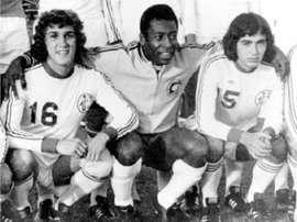 Formoso cree que Garrincha fue mejor que otros como Pelé en el Cosmos. Cosmos