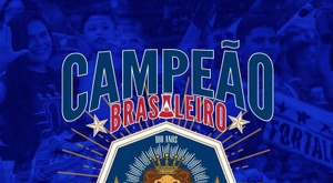 Fortaleza Campeão do Brasileirão Série B. Twitter @FortalezaEC