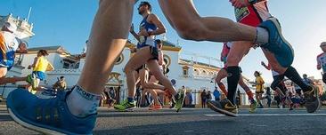 Foto: Juan José Úbeda/David de la Rosa (Maratón Sevilla Facebook).