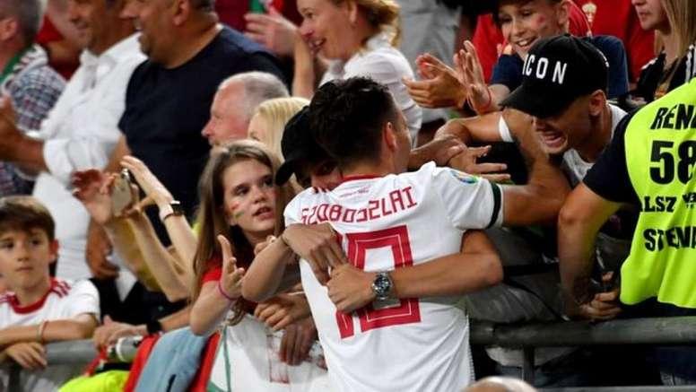 El Atlético estaría incluido en la larga lista de 'novias' del talento del Salzburgo. AFP