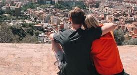 De Jong, enamorado de Barcelona. Instagram/mikkykiemeney