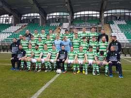 El Shamrock Rovers estará en Huelva. ShamrockRovers