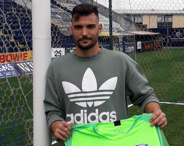 Koprivec has joined Kilmarnock after not playing for a year. Twitter/KilmarnockFC