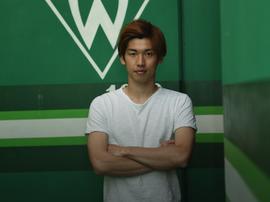 Yuya Sako dejó el Köln tras su descenso. Twitter/Werderbremen