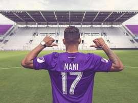 Nani a rejoint Orlando. OrlandoCity