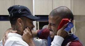 Friends reunited! Instragram/NeymarJR