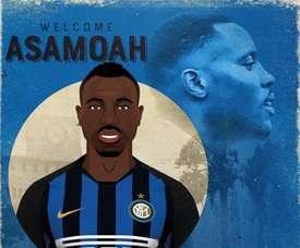 Asamoah ficha hasta 2021. Twitter/Inter