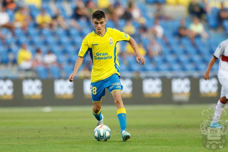 Las Palmas recibe al Sporting. Twitter/UDLP_Oficial