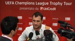 Christian Vieri critique Conte. AFP