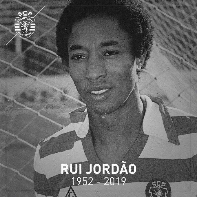 Rui Jordao fallece a los 67 años. Sporting_CP