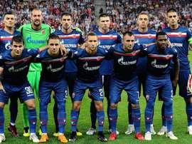 El Estrella Roja regresó a la fase de grupos 27 años después. CrvenaZvezda