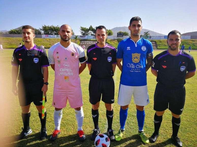 El Lanzarote había ganado 1-3. CDMarino