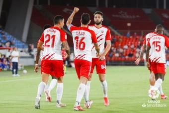 El Almería se sitúa en la tercera posición tras su victoria ante el Alcorcón. LaLiga