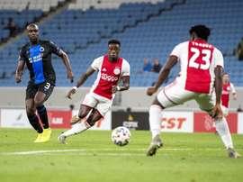 El Ajax lo tuvo fácil. Twitter/AFCAjax