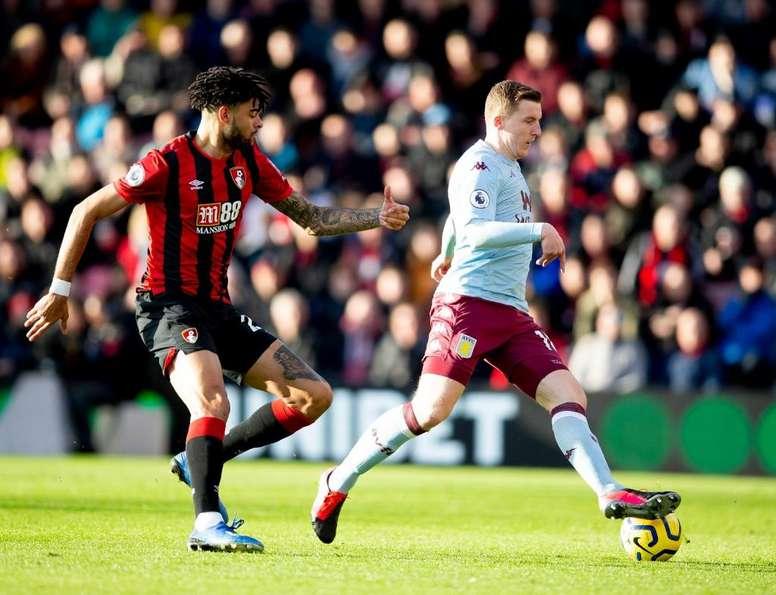 El Bournemouth y el Aston Villa son rivales directos. Twitter/AVFCOfficial
