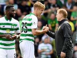 Le Celtic a maîtrisé son sujet face à Motherwell.  Twitter/CelticFC