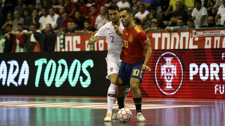España consiguió hacerse con la victoria. Twitter/SeFutbol