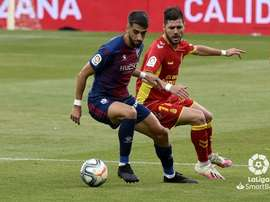 La SD Huesca le ganó a Las Palmas. LaLiga
