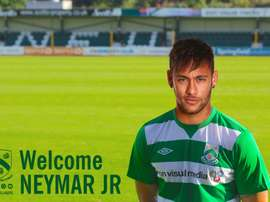 North Ferriby United took to Twitter to claim they had signed Neymar. NFU