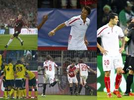 Le FC Séville a voyagé pas mal de fois en Allemagne. EFE