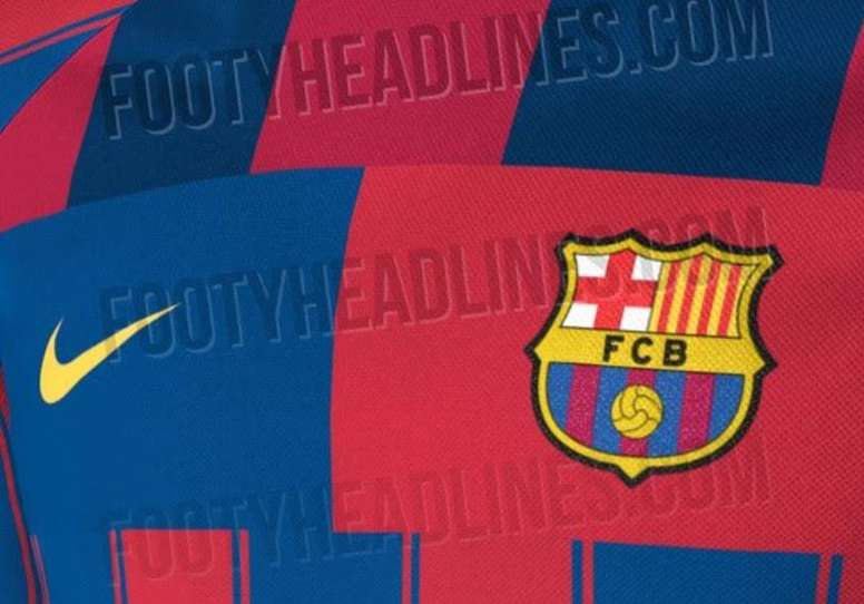 Barca S Curious Leaked 2019 20 Home Kit Besoccer