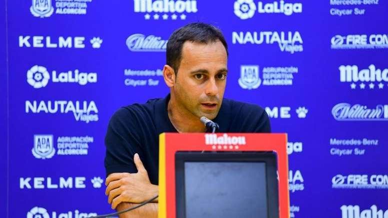 Fran Fernández analizó a su próximo rival, el Dépor. ADAlcorcon/Archivo
