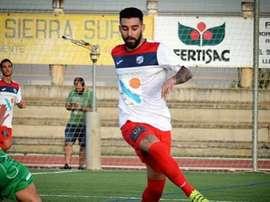 Fran Hernández jugará con el Villarubia la próxima temporada. FormacVillarrubia