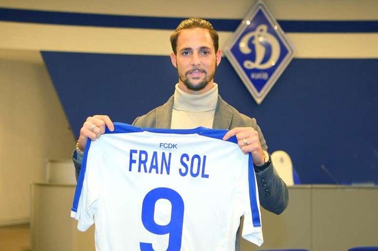 Fran Sol no ha podido brillar en el Dinamo de Kiev. FCDynamo