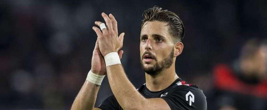 Fran Sol anotó un 'hat trick' ante el PSV. WillemII