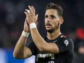 L'attaquant a été l'artificier de la victoire du Willem II face à Heracles. Twitter/WillemII