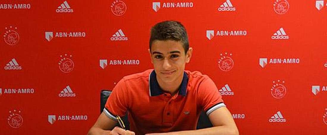 Franco Antonucci a signé un contrat avec l'AS Monaco. Twitter