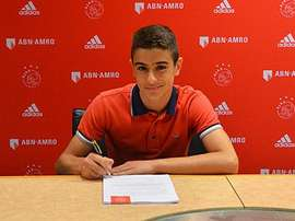 Francesco Antonucci, nuevo jugador del Ajax. Twitter