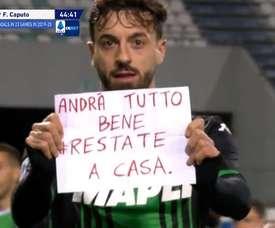 Caputo a marqué contre Brescia. Capture/ESPN