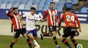 O jogador do Zaragoza atrai a atenção do Real Madrid. LaLiga