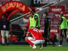 Un total de 19 cas de COVID-19 au Benfica. afp